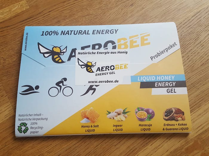 Probierpaket aerobee liquid honey energy gels