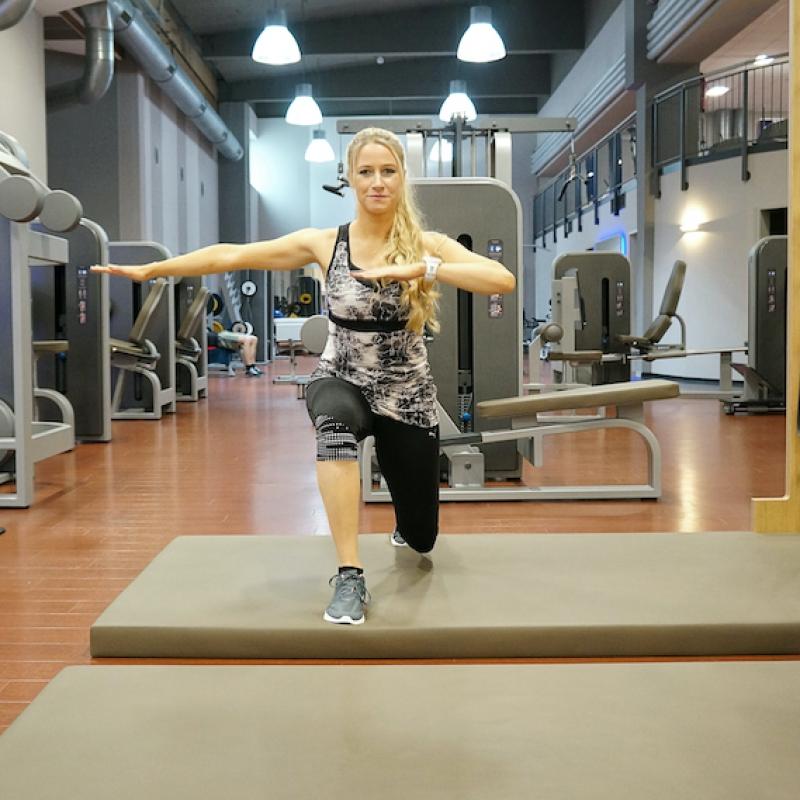 Workout mit Tabitha