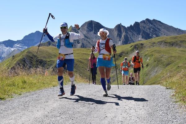 Lebensfreude beim Transalpine run 2019