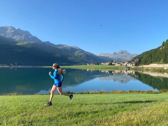 dynafit ultra 100 trailschuh läuft tabitha