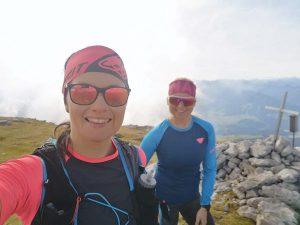 transalpine run vorbereitung von andrea und christina beim trailrunning