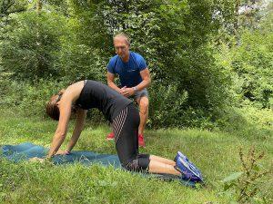 Rückenschmerzen bei Läufern