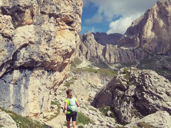 schmale trails beim skymarathon 2021