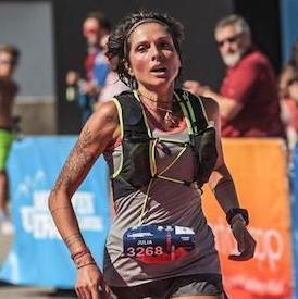 Trailläuferin Julia Schrötter