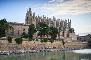mallorca marathon blick auf kathedrale